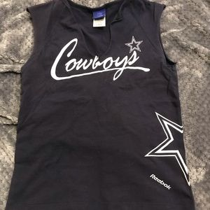 Worn 1 time NFL Dallas Coyboys Womens tank